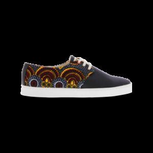 Sneakers en wax