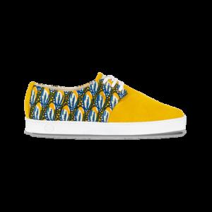 Chaussures avec wax
