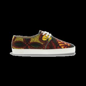 Chaussures faite en wax