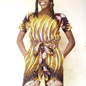 Haut femme en tissu Africain