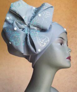 Turban en foulard prêt à porter