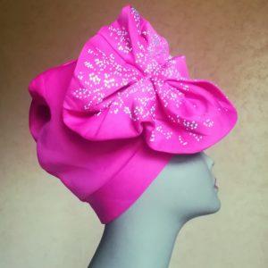 Turban en foulard prêt-à-porter