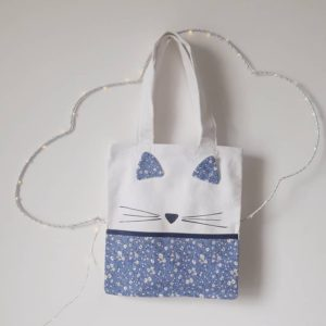 Mini tote bag liberty