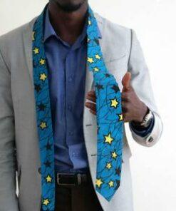 Cravate tout en wax Maiduguri