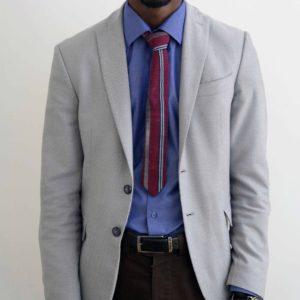 Cravate en wax africain Kaduna