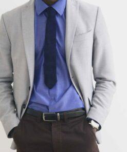 Cravate fait en tissu africain Gombe