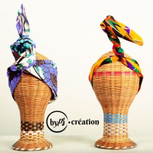 Headband fait main avec du tissu africain