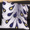 Taie d'oreiller « Plume » fait en tissus wax