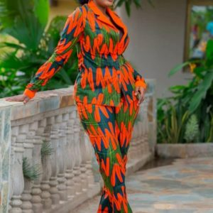 Monifa African Print Blazer