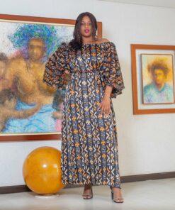 Robe en soie, Robe longue en soie, robe élégante en soie