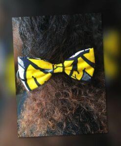 Nœudpapillon wax cheveux, barrette cheveux papillon, accessoire wax