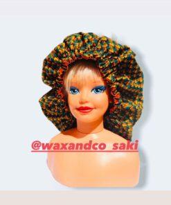 bonnet de nuit satin wax