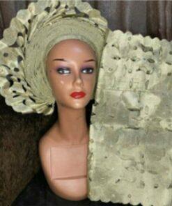 African print turban women, ready-to-wear scarf, african fabric turban