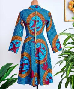 Robe mi-longue Atlas, robe, robe mi-longue