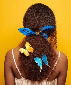 Chouchous en bogolan, chouchou pour cheveux, accessoires cheveux