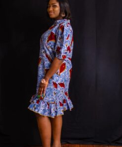 Robe midi coupe décontractée ; Funke, robe décontractée, robe midi