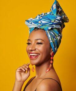 turban imprimé africain