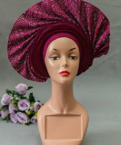 African print headwraps, headwrap with fabric, african turban