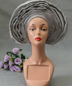 African fabric turban, African turban woman, ready-to-wear scarf
