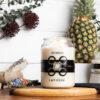 Sunsum Intention Candles, No. 0 - Soul, apothecary candle jar, 26 oz
