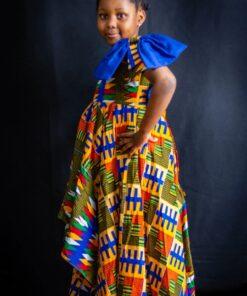 Robe pour enfants Ankara ; Adedayo, robe pour enfant, robe ankara