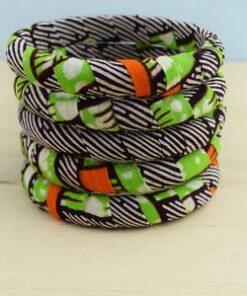 Lot bracelets africains, bracelet imprimé africain, bracelet en tissu