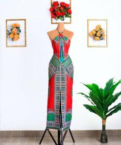 Robe longue fendue devant, robe fendue, robe longue
