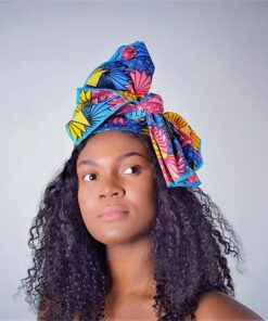 Cotton african headwrap, africanprint turban, headwrap in african wax