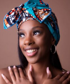 African style headwraps, african head wraps, Turban in wax
