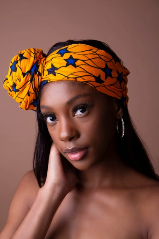 African headwrap scarf, african scarf, headwrap with wax