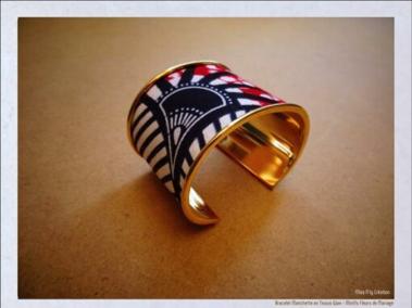 bracelet fait en wax