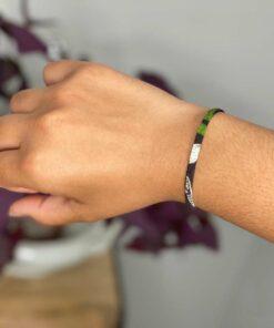 Bracelet Maïwenn vert