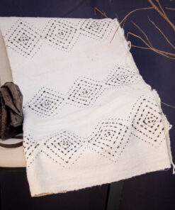 Mudcloth Blanc