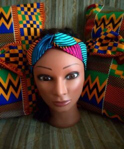 bandeau en pagne tissu wax chéri ne me tourne pas le dos boucl'ebene by aime ti_2